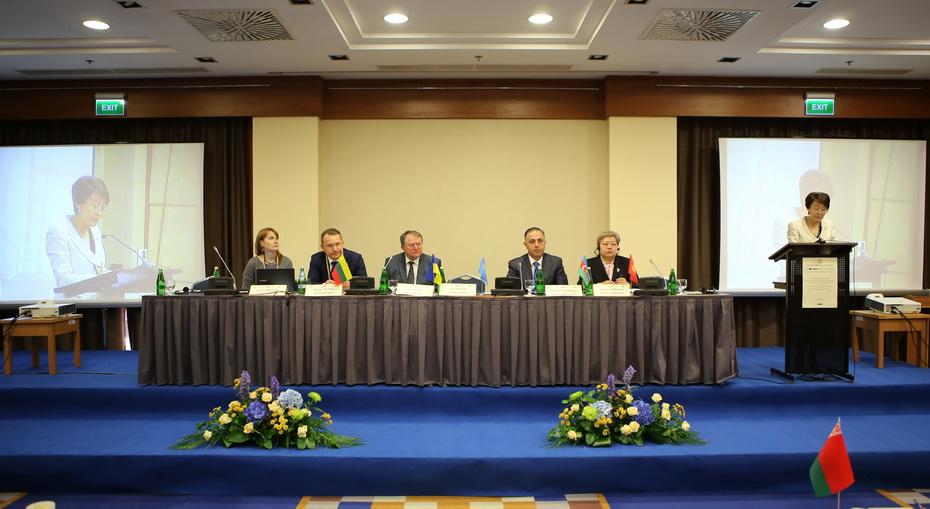 Зустріч голови конституційного суду україни юрія бауліна з генеральним секретарем обс404 ламберто заньєром